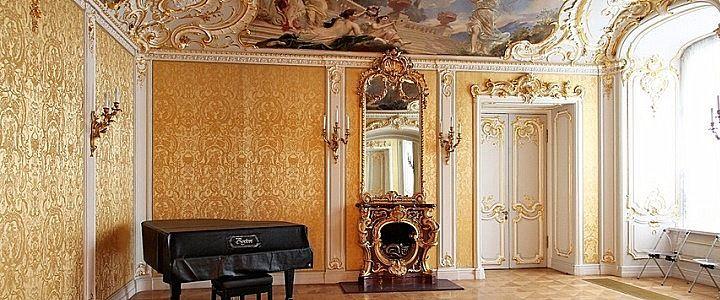 Palais de Marbre - 6 Quai du Palais - Saint Petersbourg - Le Petit Salon du Grand Duc Konstantin Konstantinovich.