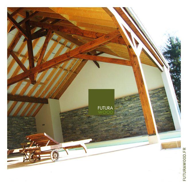 46 best Maison ossature bois u203a Extension en bois u203a Terrasse en bois
