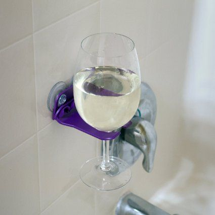 Need this ASAP! Can find it on Amazon.com - WaveHooks Bathtub Wine Glass Holder