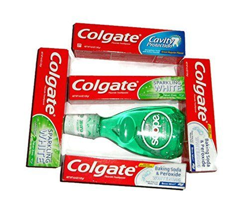 Richies Colgate Clean Teeth and Breath Gift Set -- Startling review available here  : Travel Skincare