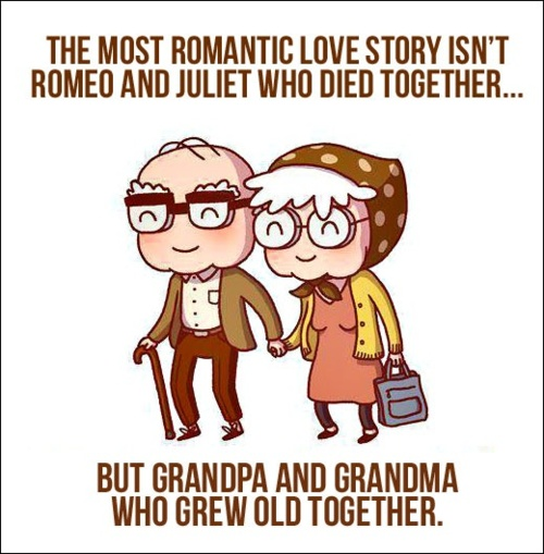 So cute...this is what I pray our grandkids will see always...we have had ups and downs, but there has never been a time in my life I have not loved my hubby...