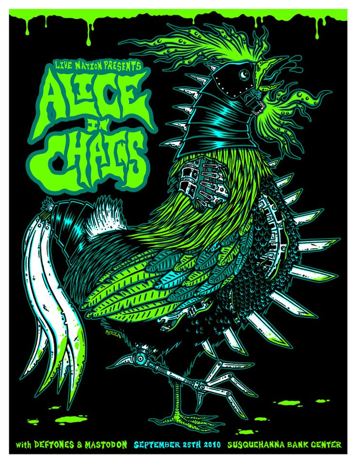 I think this has to be one of the coolest concert posters i've ever seen.