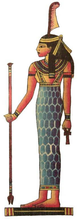"Ma'at is the Egyptian concept of truth, balance, & justice; personified by the goddess called Ma'at. It is said that at the very moment of creation, the primordial waters from which all things arose spoke to Ra. They told him to ""breathe ma'at"" so that his ""heart may live"". So, Ma'at existed, & is credited with bringing order to the universe from chaos at the moment of creation."