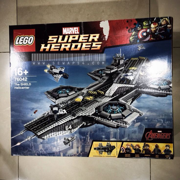 Lego The Shield Helicarrier 76042 Love this.. Its huge