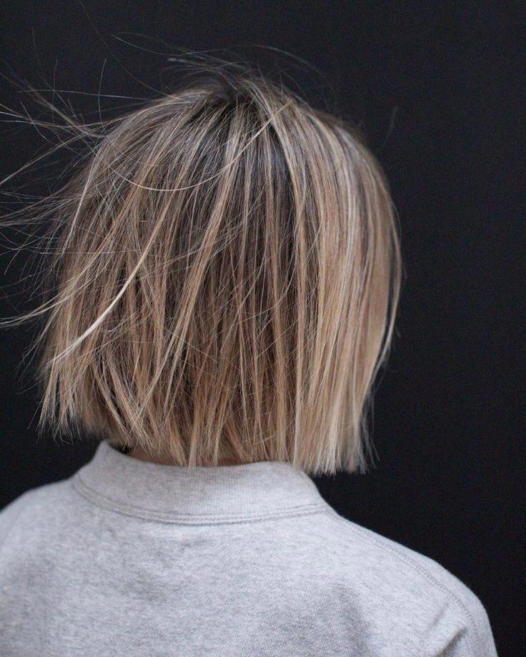 10 Casual Medium Bob Hair Cuts - Weibliche Bob Frisuren 2019 - 2020 #Bob #Casual #Cuts #Female #Hair