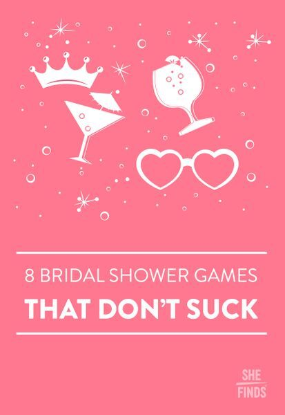 Bridal shower games that don't suck