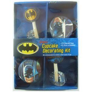 947 - Batman Cake Decorating Kit  For more details. please go to www.facebook.com/popitinaboxbusiness