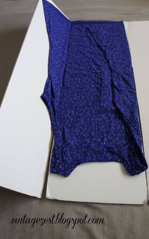 DIY Laundry Folding Board