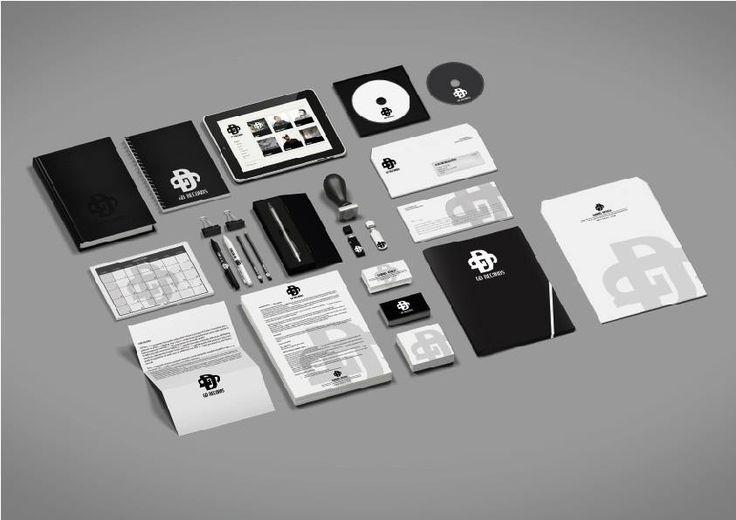 GD Records corporate identity