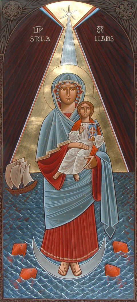 Dr Stephane Rene - Our Lady Stella Maris (Star of the Sea), commissioned by the  Apostleship of the Sea (GB).