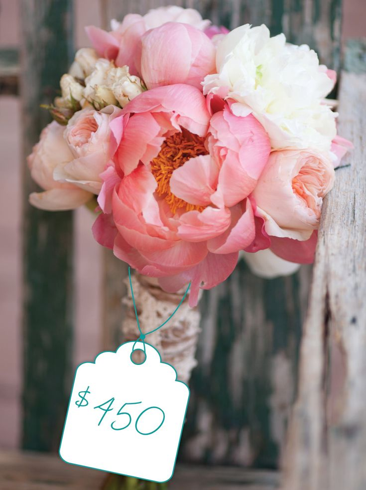 Cost Of Wedding Flowers By Type : Best images about peach coral bouquets on