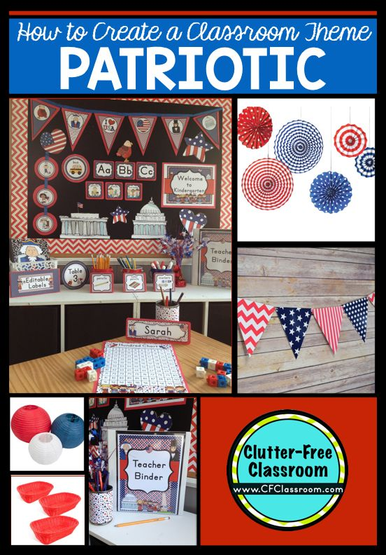 Classroom Decor On A Budget : Best patriotic classroom theme ideas and decor images