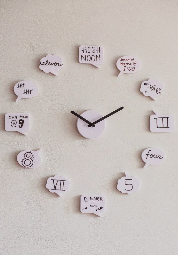 Tutoriales y DIYs: Idea: reloj de pared