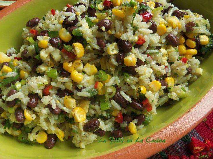 Black Beans and Rice Salad | Salads | Pinterest