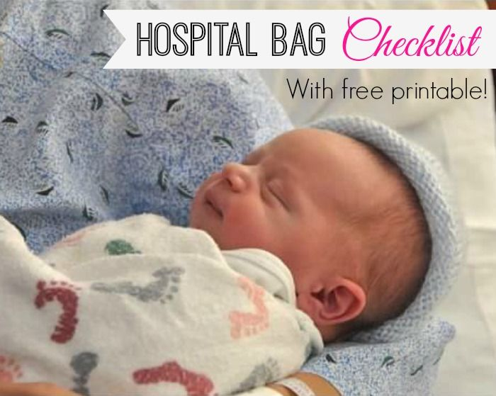 If you believe what you see on Pinterest, your hospital bag is actually the size of a suitcase and needs to be filled with designer birthing gowns, books and toys for your newborn who can't ...