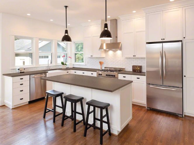 Fossil Brown Quartz Best Kitchen Cabinets Kitchen Remodel