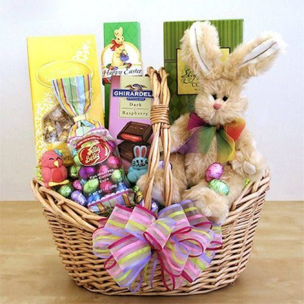 11 best easter gift baskets images on pinterest easter gift our adorable easter gift basket is perfect for the sweetest person in your life negle Image collections