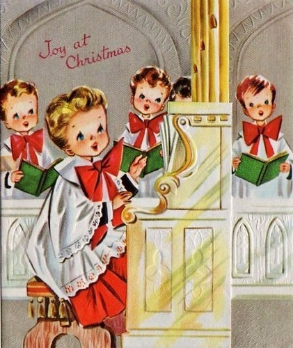 Joy And Noel Holiday Caroler: Old Fashioned Christmas: Cards