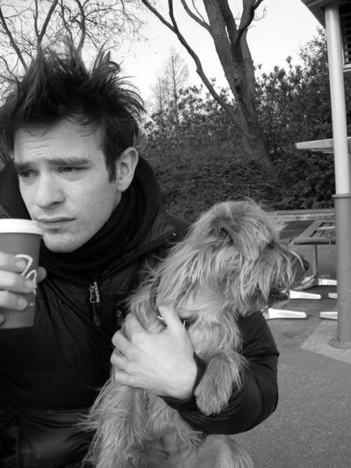 Charlie Cox, caffeine, and a fuzzy