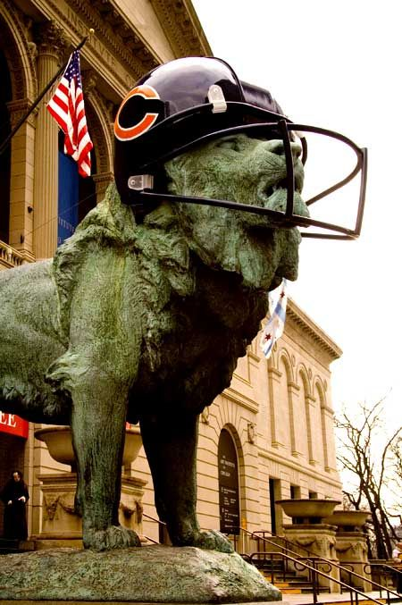 The Art Institute of Chicago. DA BEARS