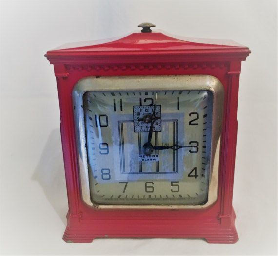 Vintage Art Deco Ingraham Clock by Rustichicness on Etsy