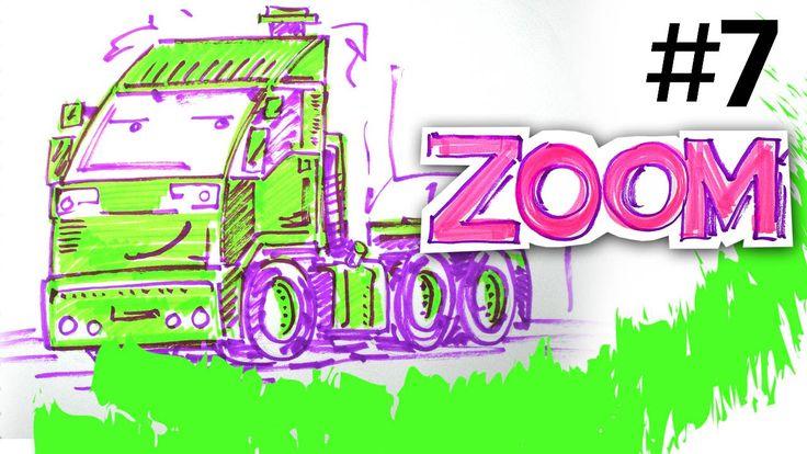 Как рисовать зеленый тягач, Маркер ZOOM, РыбаКит   РыбаКит ...