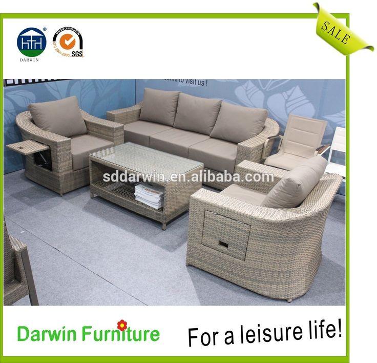 M s de 25 ideas incre bles sobre muebles de mimbre al aire for Muebles para terraza al aire libre