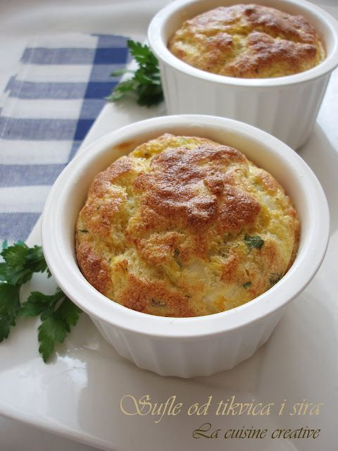 La cuisine creative: Sufle sa tikvicama i sirom