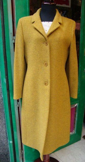 100% lana cappotto donna pistache Vintage di FashionanticVintage