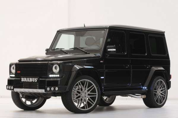Vicious Off-Roaders - The Brabus 800 Widestar is a Powerhouse in Both Speed and Luxury (GALLERY)