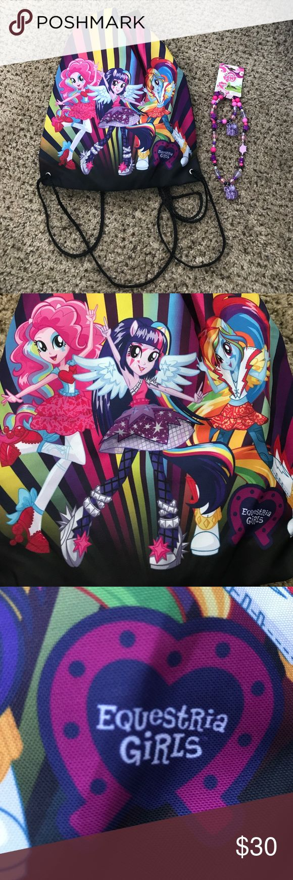 My Little Pony Equestria Girls Pack & Necklace Set My Little Pony Equestria Girls Pack & Necklace Set, NEW My Little Pony Accessories