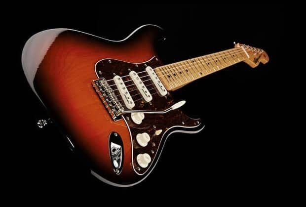 Vintage V6mssb Reissue V6 Double Cutaway With Maple Neck Sunset Sunburst Reverb Guitar Electric Guitar Sunburst