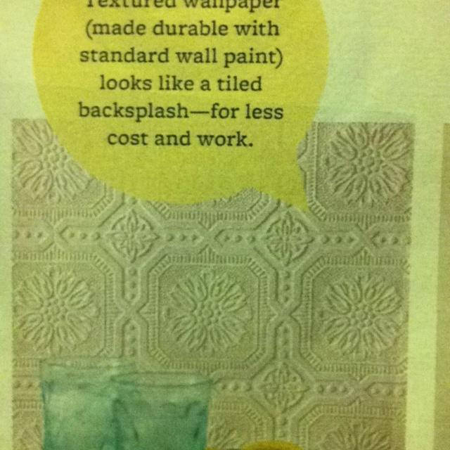 17 best images about wonderous wallpaper on for Textured wallpaper backsplash