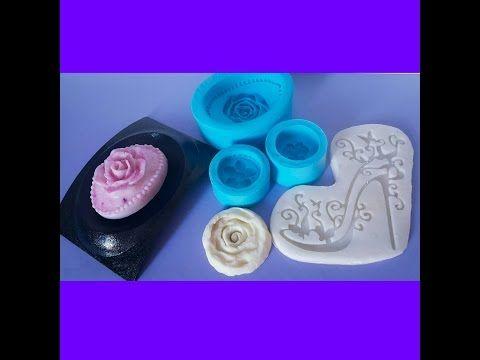 Como fazer molde de silicone caseiro e com borracha de silicone - YouTube