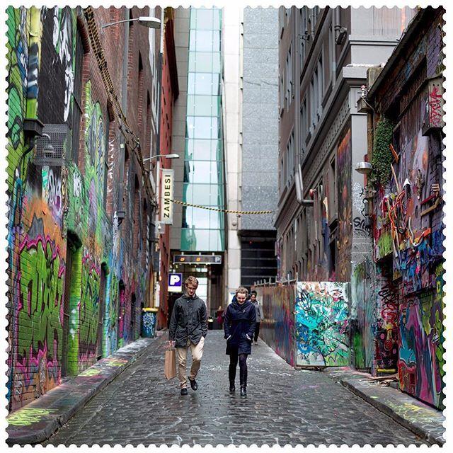 Unhidden laneways . Melbourne 3000 #Australiaconnected #Melbourne #laneways #graffiti