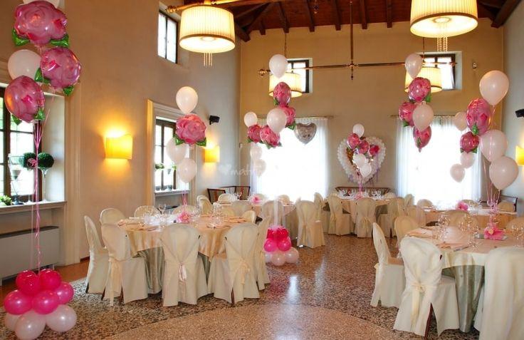 Decorazioni per matrimonio con palloncini