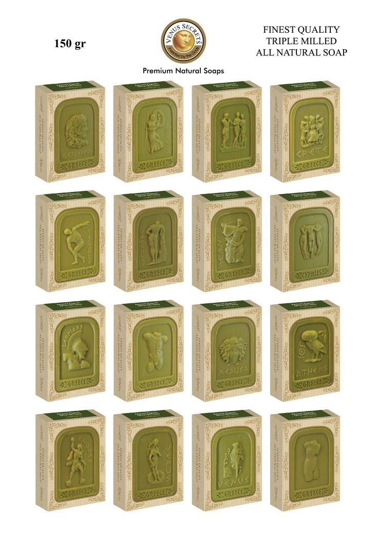 Ancient Figures Olive Soap 150g _____Code: 520749