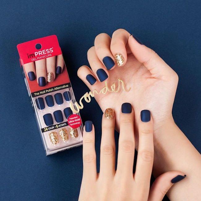 Manucure imPRESS de KISS : de beaux faux ongles autocollants pour toutes les occasions >> http://www.taaora.fr/blog/post/manucure-facile-rapide-impress-manucure-gel-kiss-faux-ongles-capsules-adhesives-manucure-instantanee #manucure #nailart