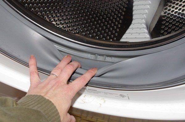 Чистка стиральной машины от плесени