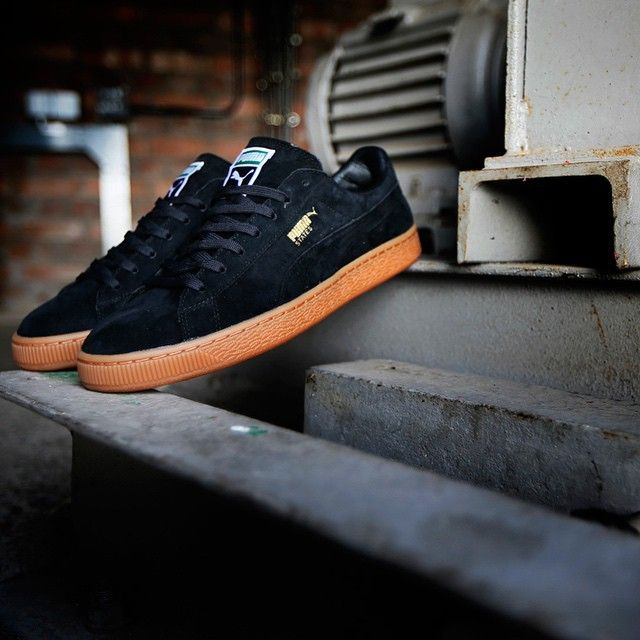 Puma States: Black/Gum