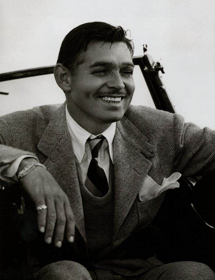 "Clark Gable (February 1, 1901 – November 16, 1960) was an American film actor, often referred to as ""The King of Hollywood"". Gone With the Wind, It Happened One Night, No Man of Her Own, Forsaking All Others, Mutiny on the Bounty, Red Dust, Call of the Wild, Test Pilot, Comrade X, The Misfits, Honky-Tonk."