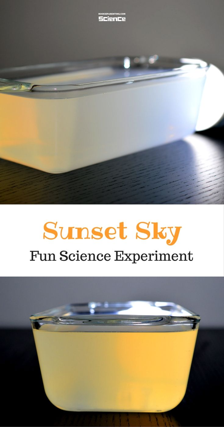 Why Are Sunsets Orange? #Science#ExperimentForKids #STEMProject