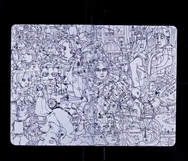 The 2012 Sketchbook Project Goes on Tour