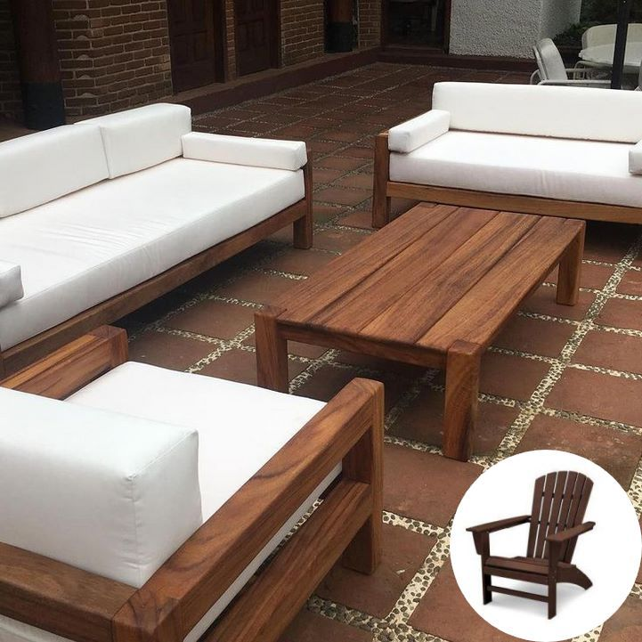 Wooden Outdoor Furniture B And Q And Outdoor Wood Furniture Turning Black Patio Backyar In 2020 Wooden Patio Furniture Wood Patio Furniture Wooden Outdoor Furniture