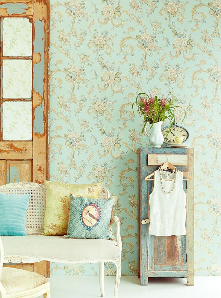 Aurora | Baroque wallpaper | Wallpaper patterns | Wallpaper from the 70s