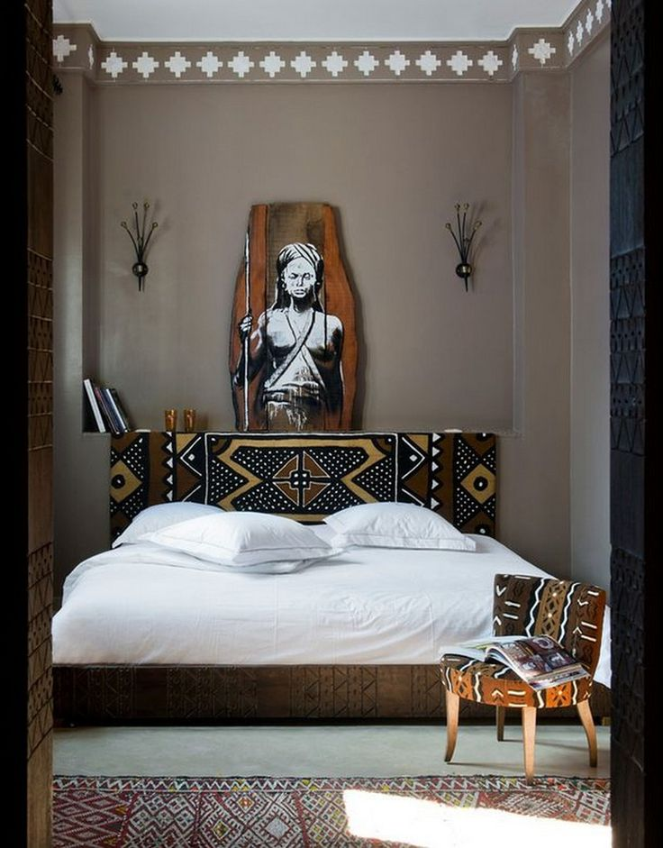 Best 25 african bedroom ideas on pinterest - Decoration chambre style afrique ...