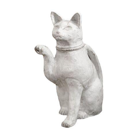 Astier de Villatte Setsuko Large Cat Teapot
