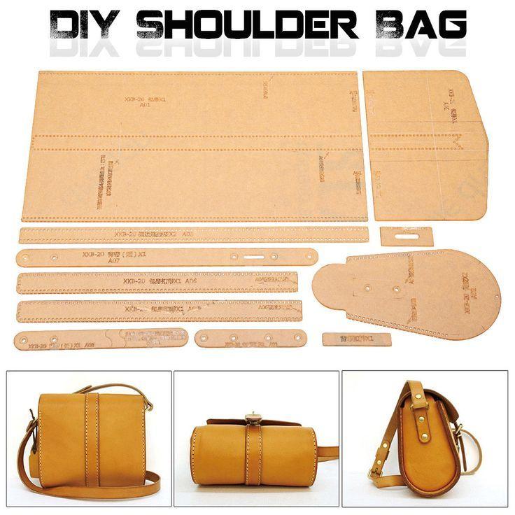 Leder Handwerk Klar Acryl Umhangetasche Handtasche Muster Schablone Vorlage Diy Handtaschen Ledertasche Muster Diy Handtasche Diy Umhangetasche