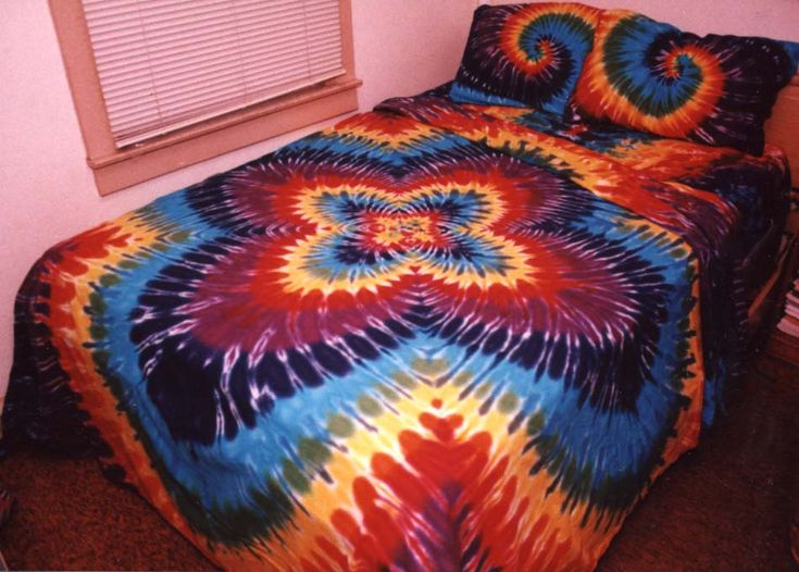 tie dye bedding | / The Shop at ADZART.com - Tie-Dyed Sheets, Pillow Cases, Comforter ...