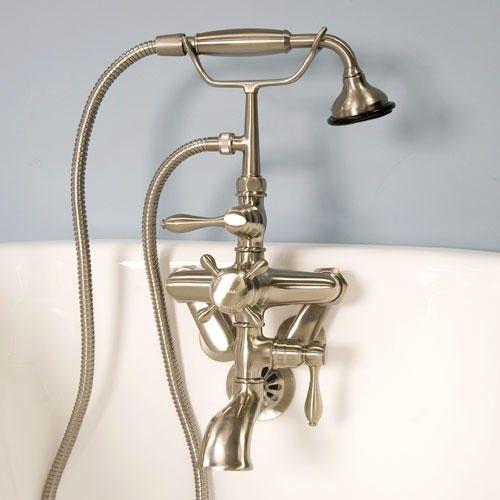 Tub delta roman hand bronze spigot shower